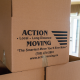 action moving and storage packing boxes