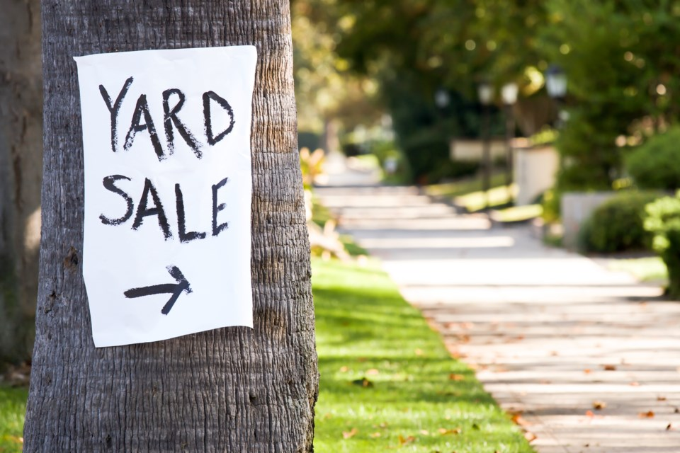 Six Steps That Will Make You a Yard Sale Pro